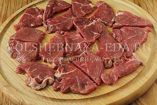 Замариновать говядину для запекания