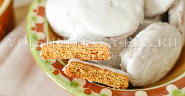 классическое пряничное тесто
