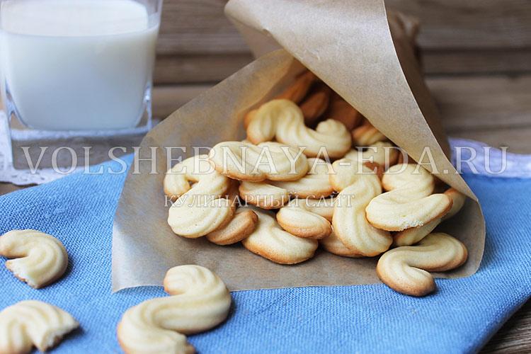 печенье глаголики рецепт по Госту