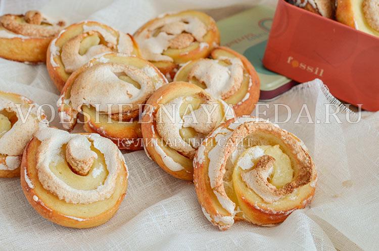 рецепт с фото печенье творожное с безе