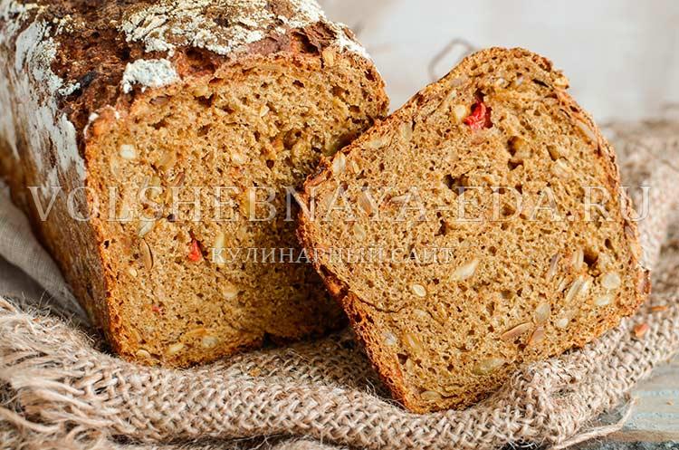 Рецепты хлеба с добавками