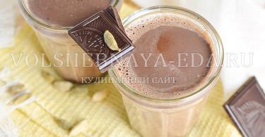 рецепт шоколадный латте с кардамоном