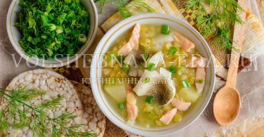 Рыбный суп с чечевицей в мультиварке