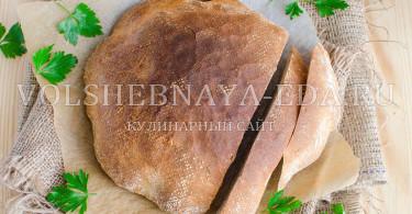Хлеб деревенский на сливках