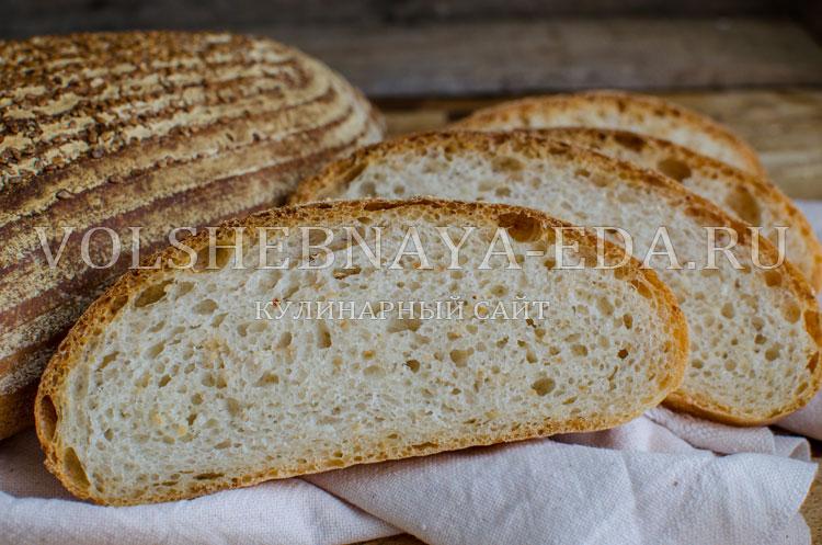 Кунжутный хлеб