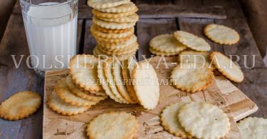 Галетное печенье