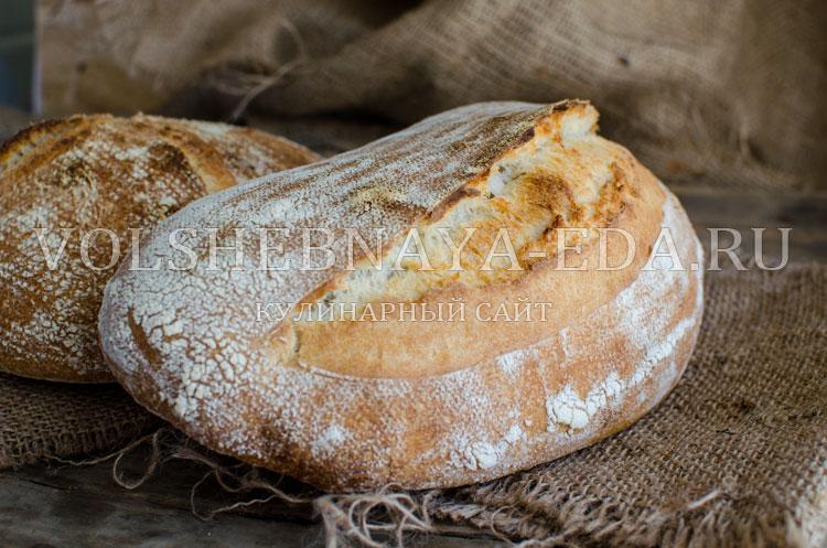 Хлеб пшеничный на закваске