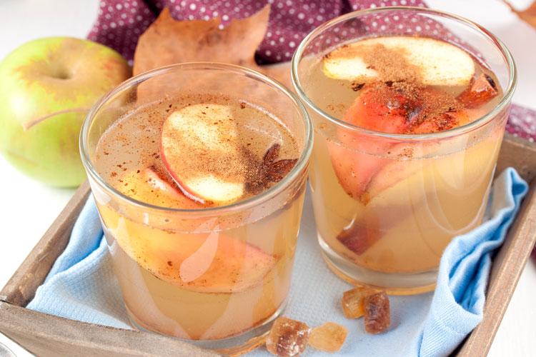 Осенний пряный напиток