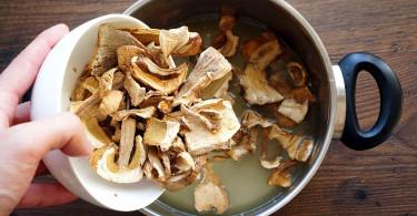 Что стоит знать о сушеных грибах