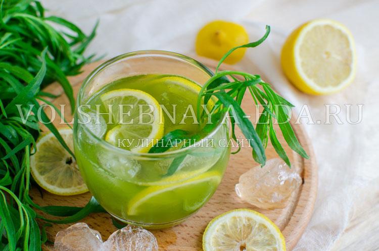 рецепт консервации тархун напиток