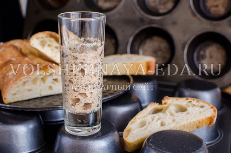 Ржаная закваска для хлеба