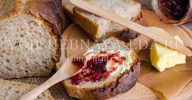 Хлеб пшеничный формовой на остатках закваски