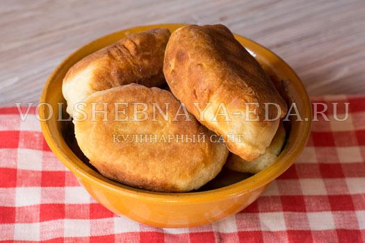 Рецепты пирожков жареных на кефире