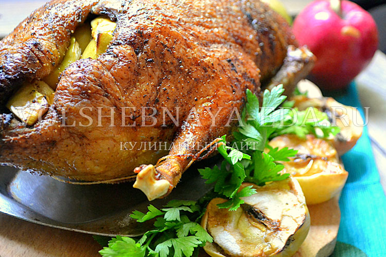 Вкусная утка в духовке рецепт в домашних условиях 264