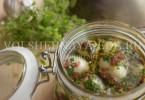 Маринованный яйца по-пьемонтски