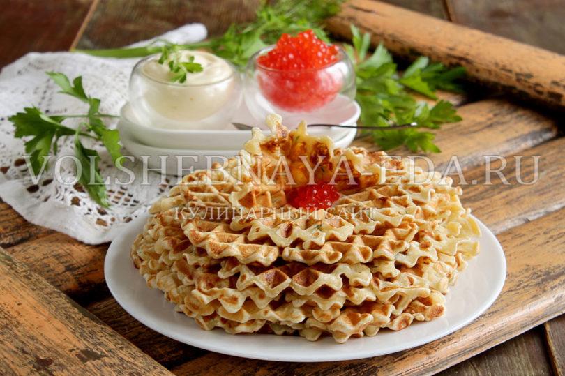 Домашние вафли в вафельнице рецепт с фото