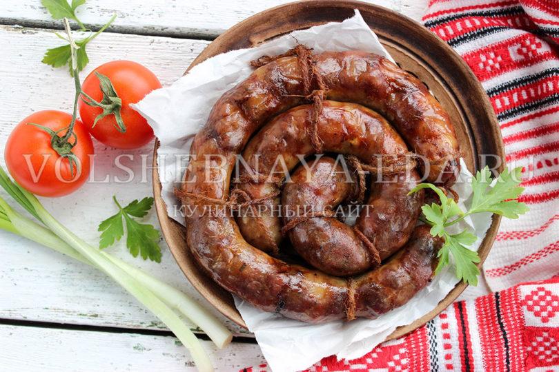 рецепт домашней колбасы из субпродуктов