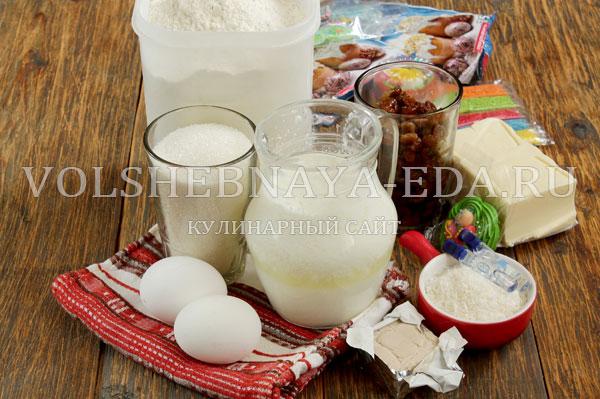 пасхальный кулич рецепты кислом молоке