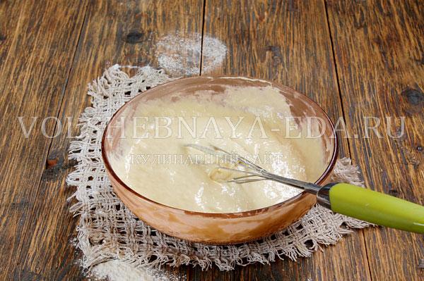 kokosovyj pirog so slivkami 5