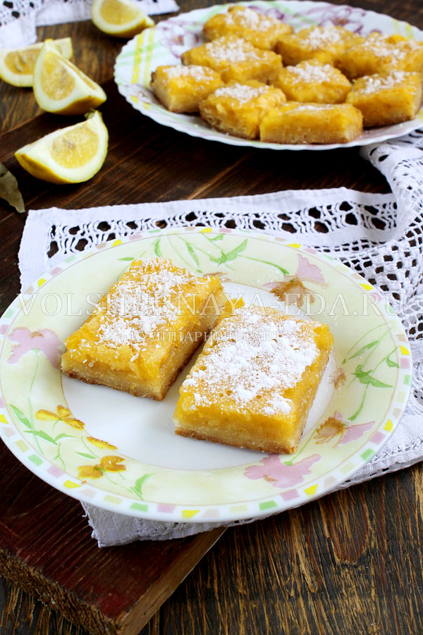lemon bars 1