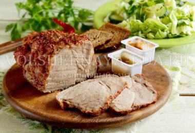 Пастрома из свинины