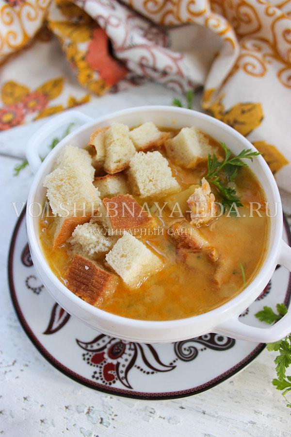 Гороховый суп с копченостями и курицей рецепт пошагово