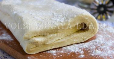 Ложное слоеное тесто