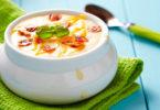 Сырные супы, рецепты