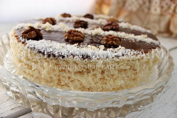 tort iz vafelnyh korzhej 6