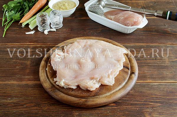 farshirovannaya kurinaya grudka v souse bearnez 2