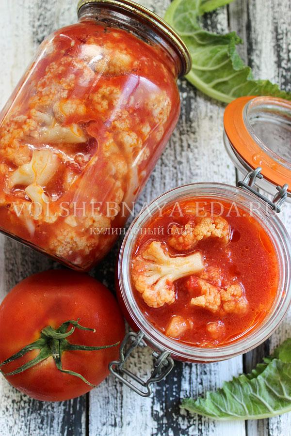 cvetnaya kapusta v tomate 11