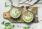 С чем вкусно подавать крем-суп?