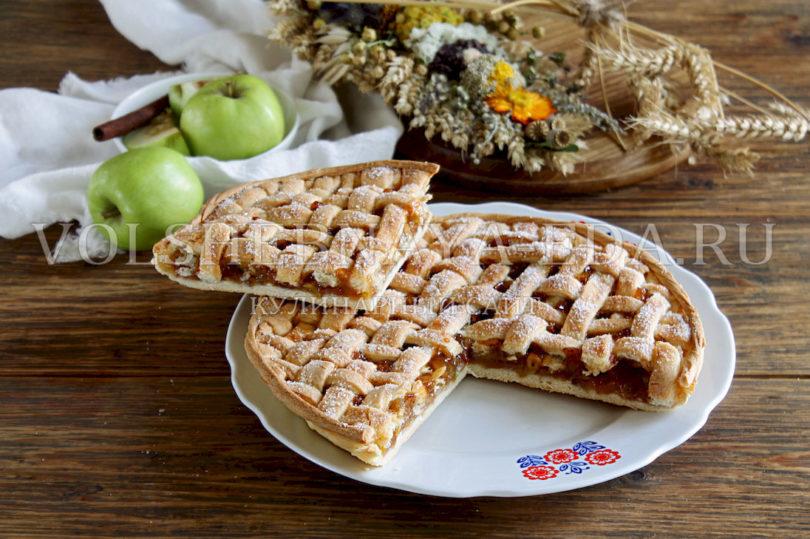 Яблочный пирог к Яблочному Спасу