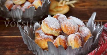 Маленькие немецкие пончики