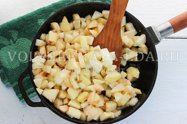 как приготовить вкусную начинку из яблок для пирожков