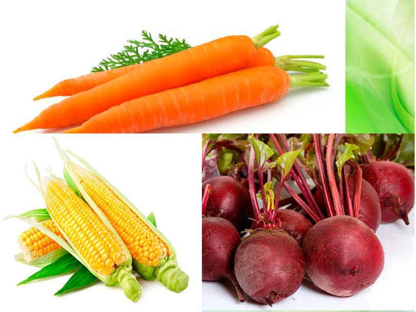 Сладкие овощи