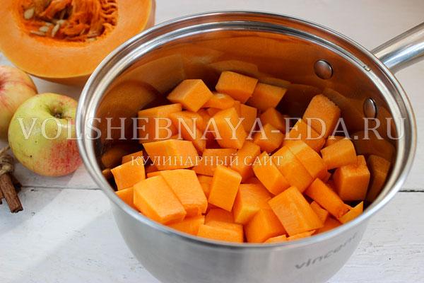 varenje iz tykvy s yablokami 1