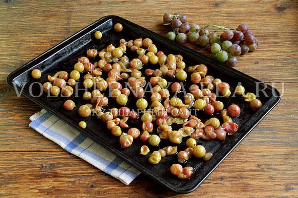 galeta s vinogradom i yablokami 2