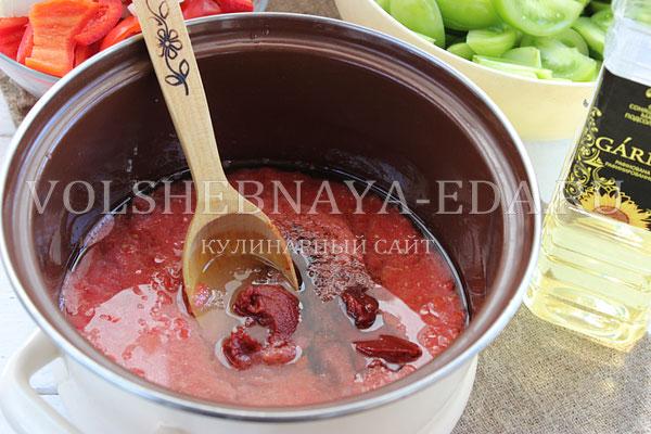 lecho iz zelenyh pomidorov 5