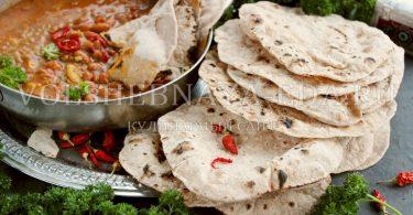 Чапати (индийские лепешки)