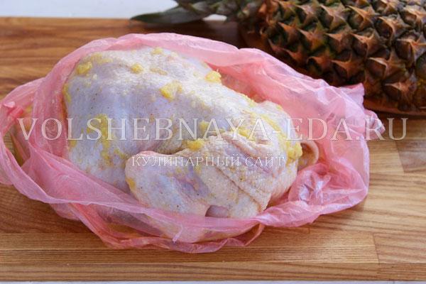 kurica s ananasami v duhovke 4