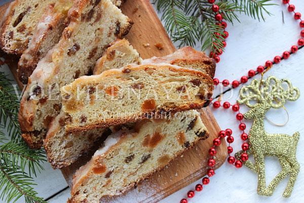 Рецепт дрезденского кекса