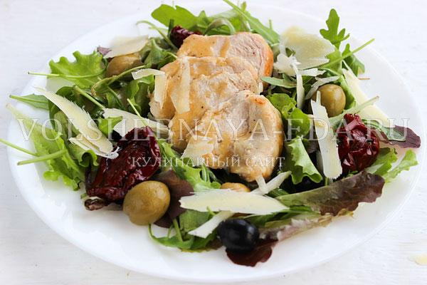 salat s kuricej pod gorchichnoj zapravkoj 6