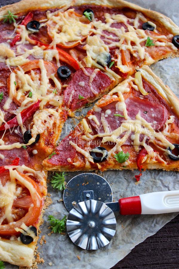 Как сделать слоеное для пиццы 135