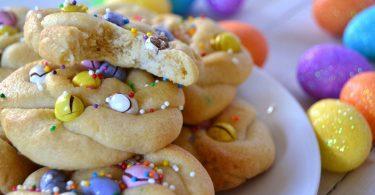 Пасхальное печенье