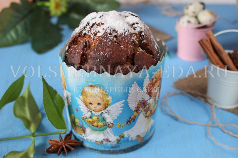 Постный пасхальный кекс