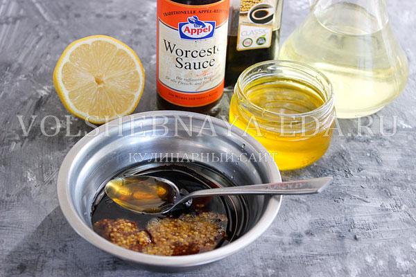 losos v medovo gorchichnom marinade 1