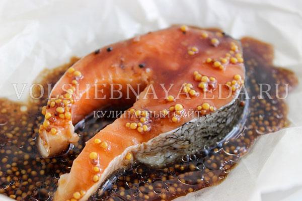 losos v medovo gorchichnom marinade 3