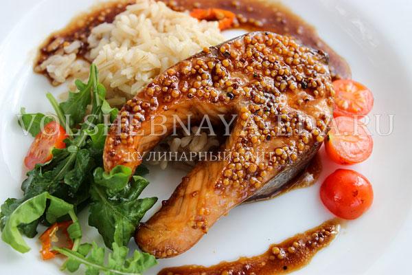 losos v medovo gorchichnom marinade 7