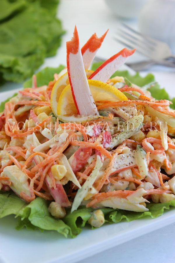 salat s korejskoj morkovyu i krabovymi palochkami 10